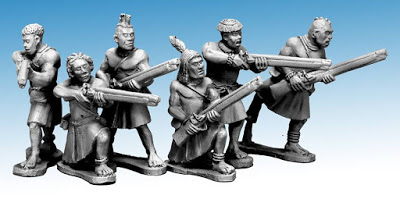 Northstar Miniatures: Death in the Dark Continent Rugu Ruga Musketmen