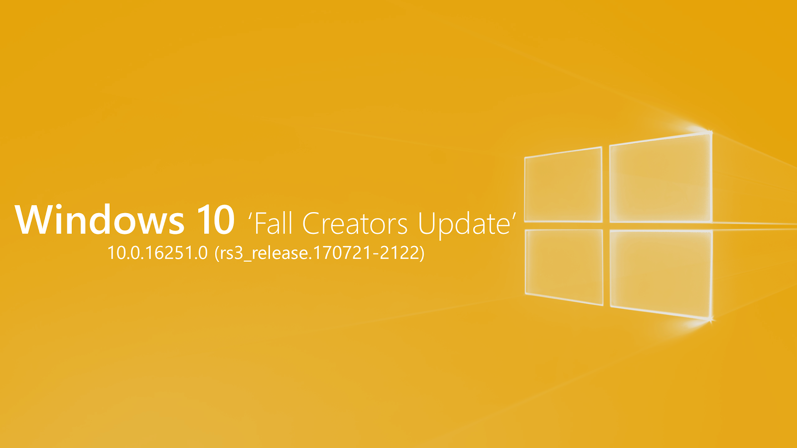 Windows 10 Build 16251 now available for Insiders - Download ISO
