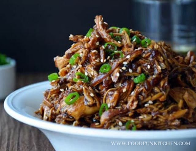 COOKER HONEY GARLIC CHICKEN