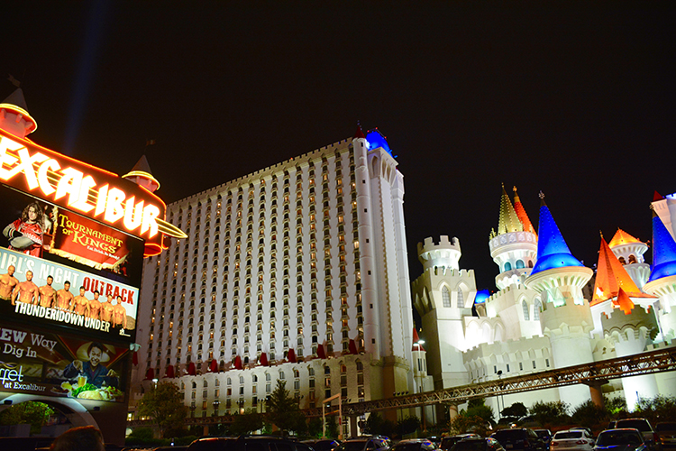 Excalibur, Las Vegas, NV | My Darling Days