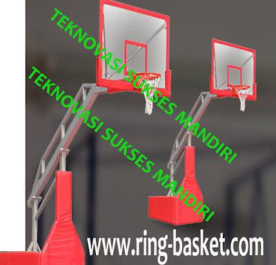 Ring basket portabel dengan hidrolik listrik