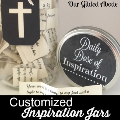 Scripture Inspirtation Jars Gift