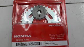 Cara Ganti Gear set Honda Supra X 125
