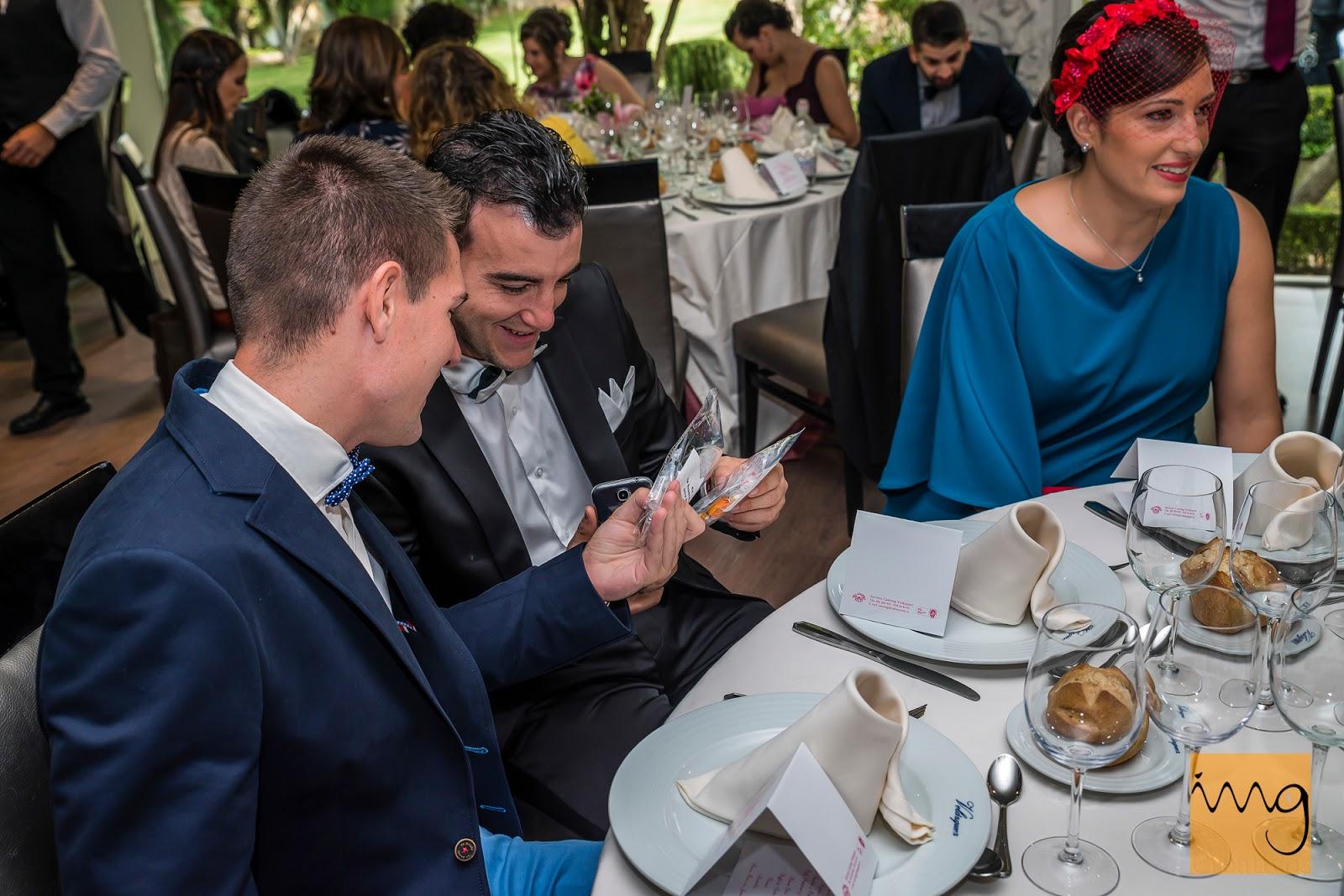 Fotografía de boda en Granada, Reacciones de los invitados