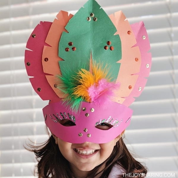New Year Eve's Party ideas, DIY Party Ideas, Party Mask Ideas, Mask ideas for kids, face mask to make for kids, Crafts for kids,