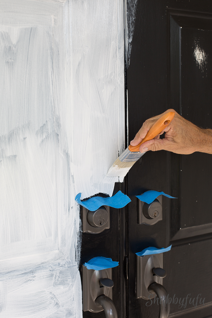 how to paint front door 2. Black Bedroom Furniture Sets. Home Design Ideas