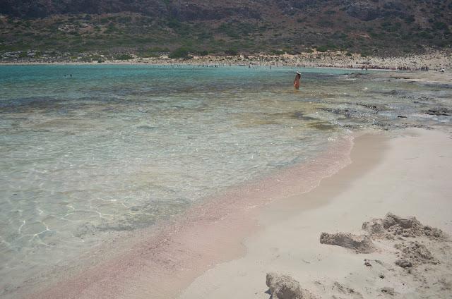 praia de areia rosa