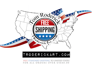 troderickart.com offer FREE Standard USA shipping on order over US$40.00