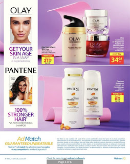 Walmart Flyer Beauty valid 21 - 27, 2017
