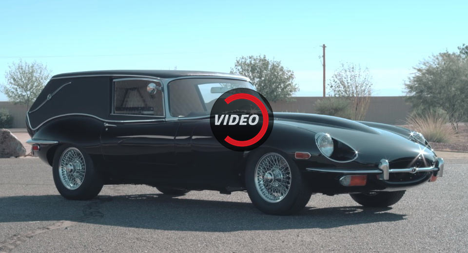 This Jaguar E Type Hearse Is The Perfect Halloween Car Car News
