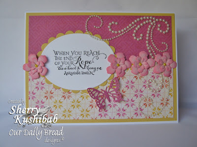 Our Daily Bread Designs, Quote Collection 2, Sherry Kushibab