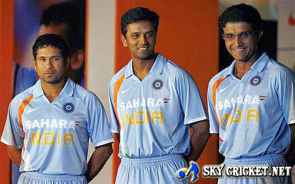 Tendulkar, Dravid and Ganguly listed as casual labourer