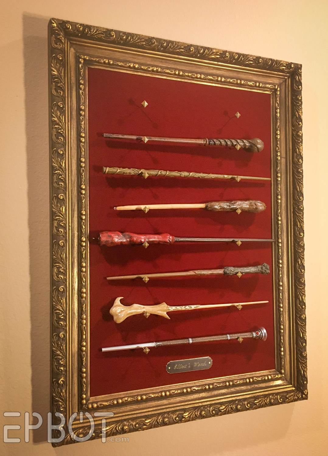 EPBOT Make Your Own Framed Wand Display Perfect For