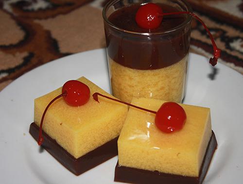Resep Cara Membuat Puding Jagung Manis Susu Coklat Enak Dan Lembuat