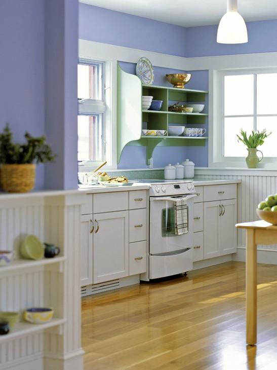 32 Warna Cat Dapur Minimalis Modern yang Simple Paling