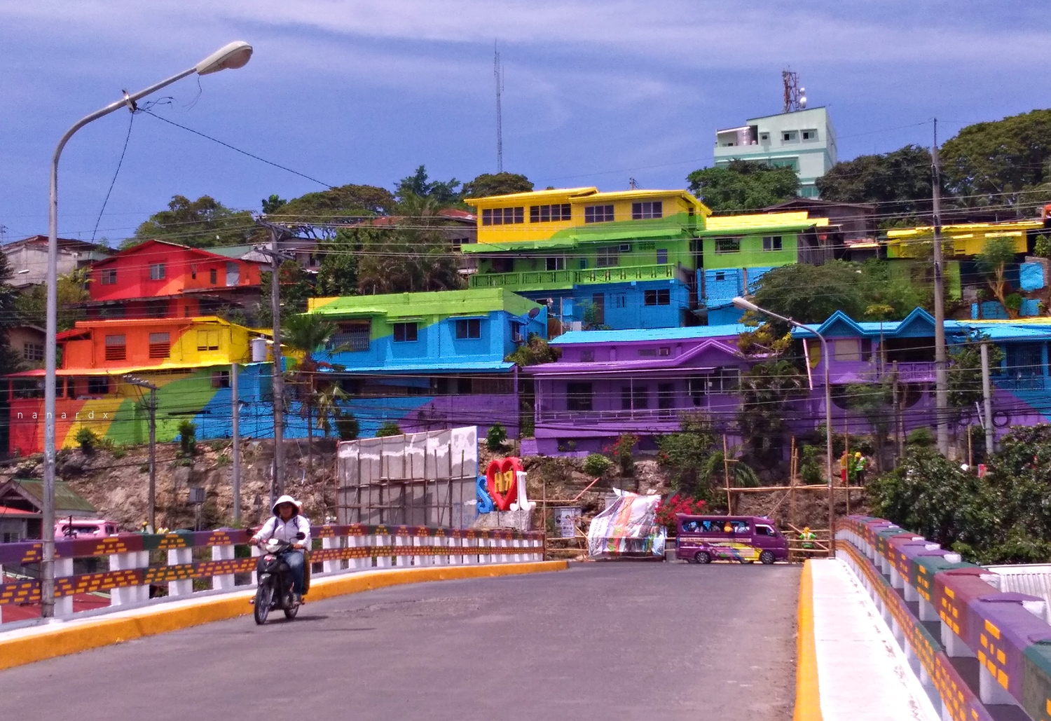Colorful PC Hill in Cotabato City