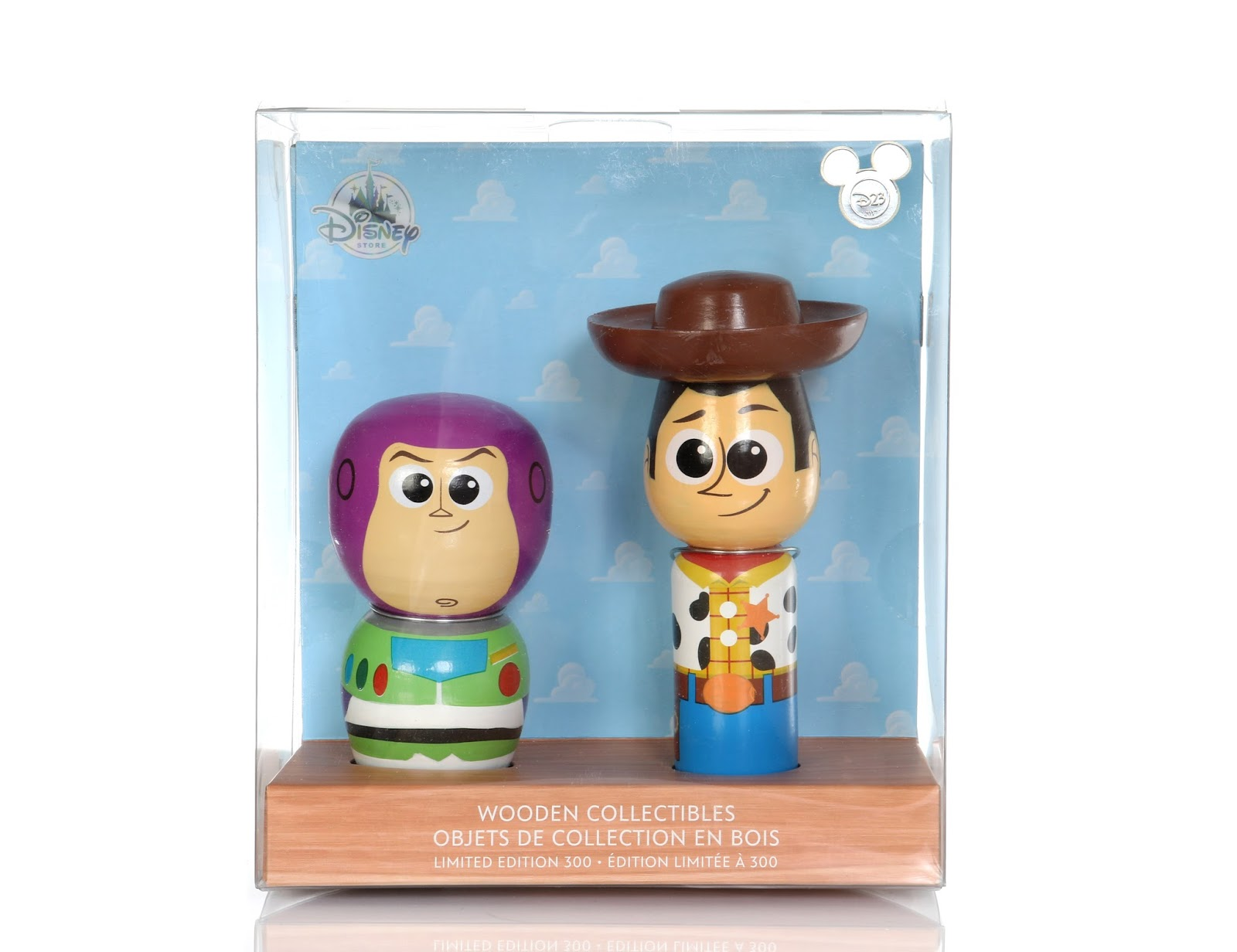 Toy Story D23 Expo 2017 Wooden Collectibles