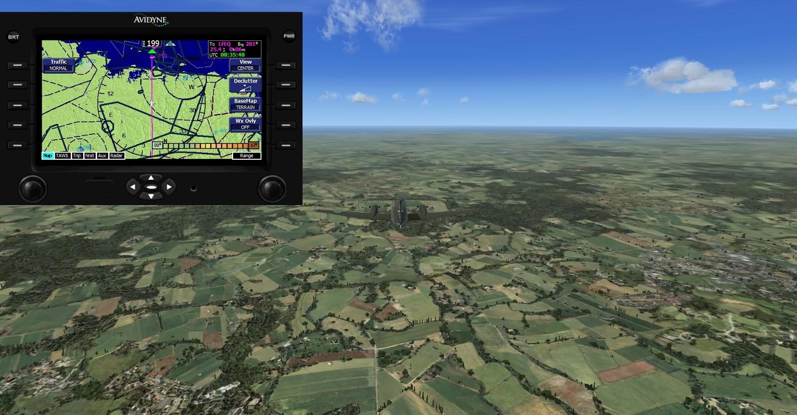 MS Flight Simulator X: VFR France Bretagne and FSX Steam Edition