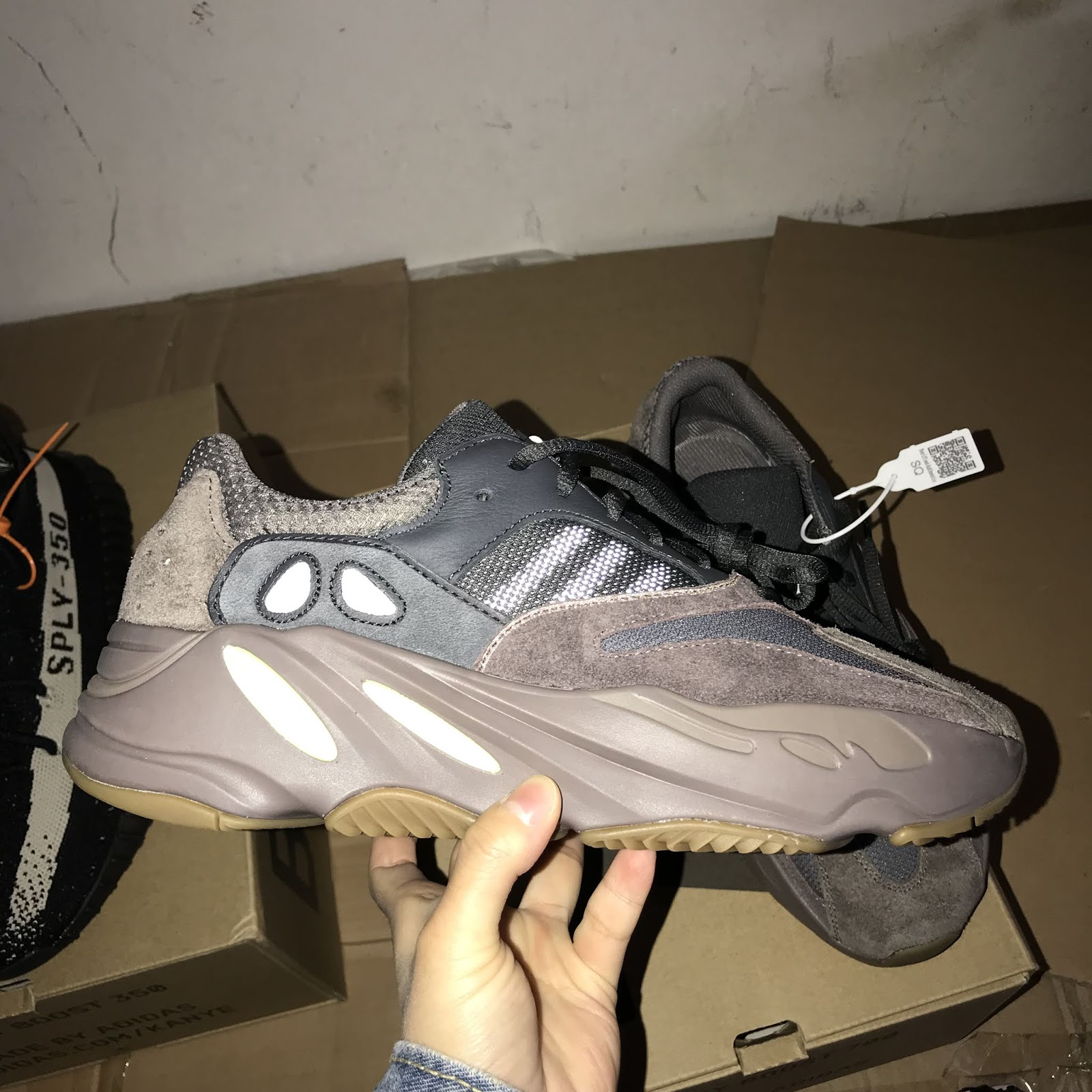 2d03807b01a45 Yeezy Boost 700 Mauve Not Selling On Youtube Free Adidas Nmd ...