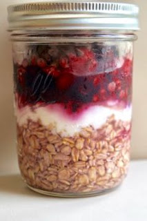 Pomegranate Berry Overnight Oats: Savory Sweet and Satisfying