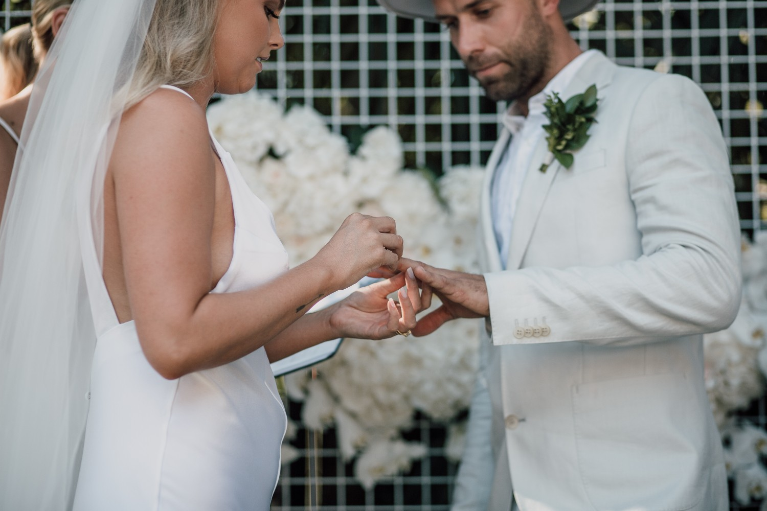 LOVE: ISSY AND HARRY | TROPICAL GARDEN OASIS REAL WEDDING SYDNEY NSW