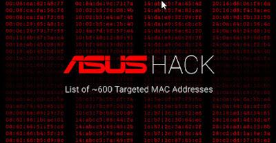 Tiết lộ danh sách hơn 600 MAC addresses bị nhắm mục tiêu trong vụ xâm nhập tại ASUS - CyberSec365.org