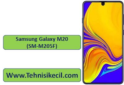 Download Firmware Samsung Galaxy M20 (SM-M205F) Terbaru free No password