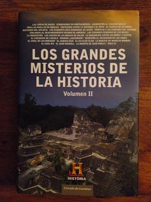 Colección de libros del Canal Historia - Canal Historia - History Channel - History Channel Iberia - Los grandes misterios de la Historia - El troblogdita - ÁlvaroGP - Historia