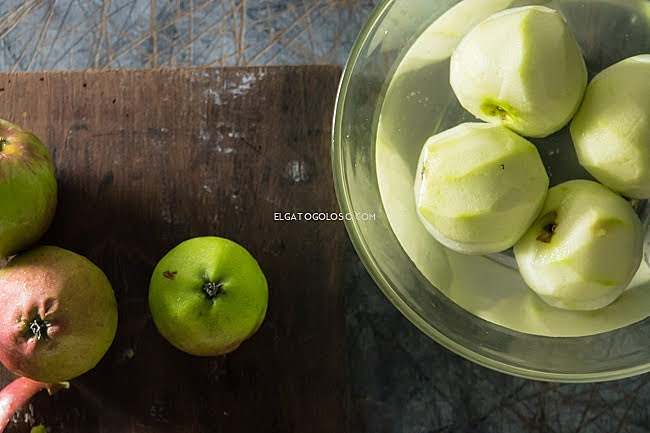 Food photography apples Maru Aveledo