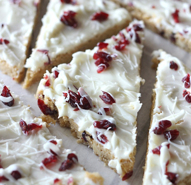 Cranberry Bliss Bars (Starbucks Copy Cat