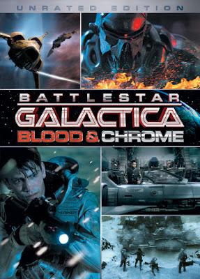 battlestar galactica krew i chrom serial plakat