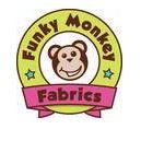 Funky Monkey Fabrics Logo