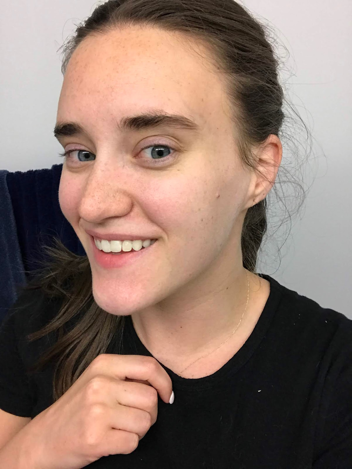 RevitaBrow Review Before And After pictures, featured by popular New York beauty blogger, Covering the Bases