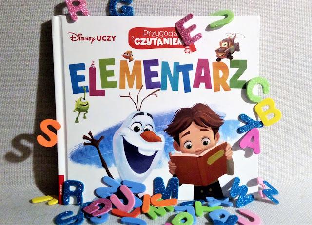 """""""Disney uczy. Przygoda z czytaniem - elementarz"""" wyd. AMEET - recenzja"""