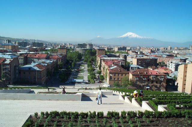 Yerevan, Capital da Armênia