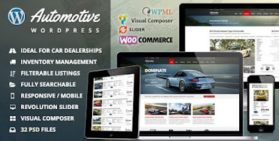 designwordperss Automotive Car Dealership Business WordPress Theme Download Free [Version v4.0] Templates