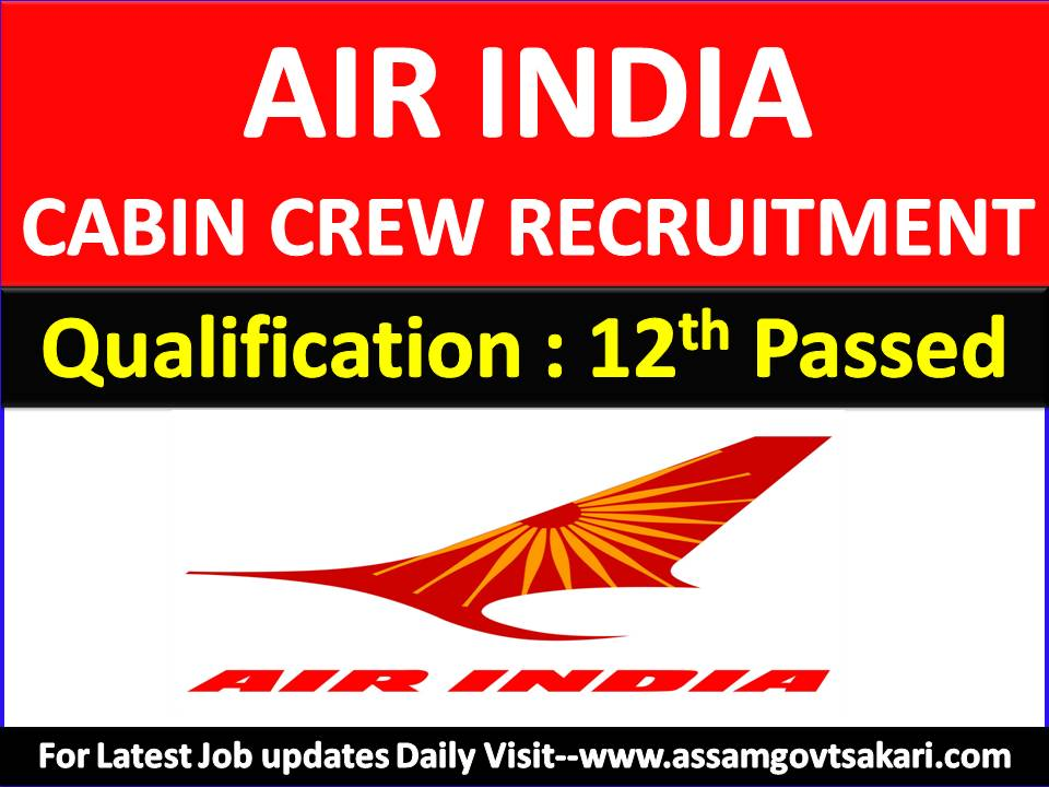 Air India Careers : 42 Cabin Crew Recruitment Apply Online