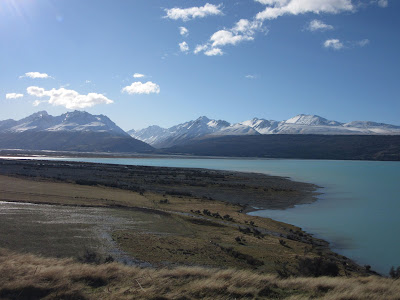 Lago Pukaki, en Nueva Zelanda