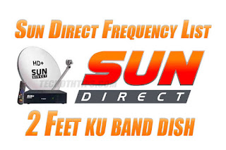 Sun Direct Frequency List Sun Direct tp List