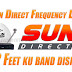 Sun Direct Frequency List