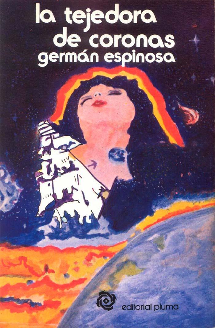 Conferencia sobre La tejedora de coronas de Germán Espinosa