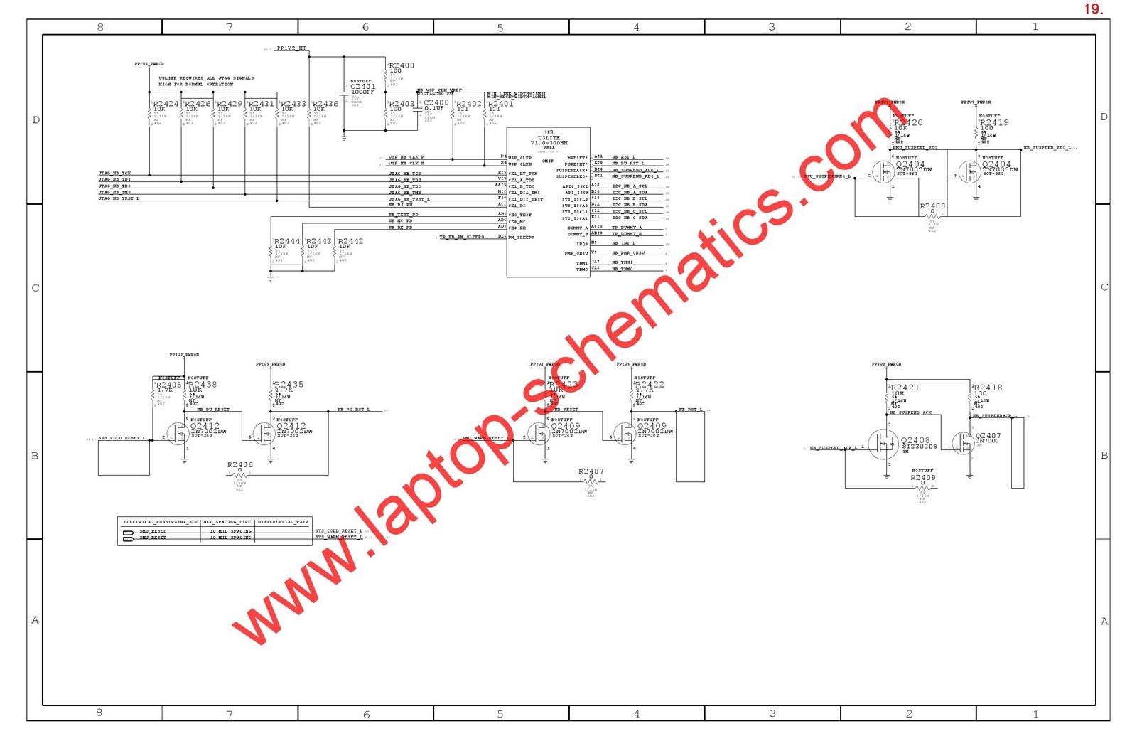 Skema Apple Laptop Schematic Diagram