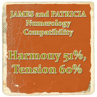 james and patricia name compatibility numerology by first name