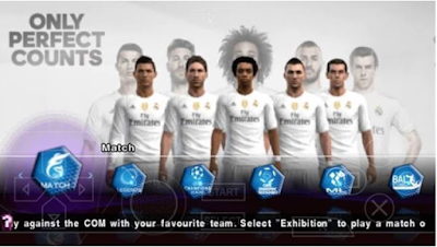 PES 2017 PPSSPP for Android