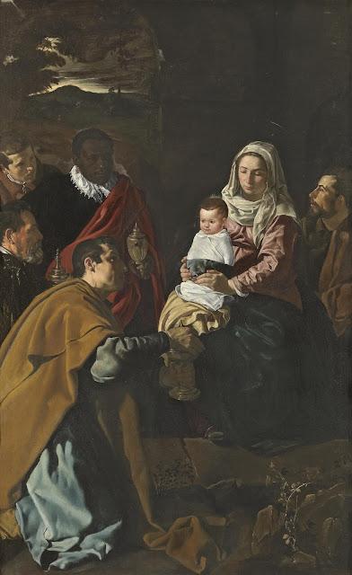 Diego Velazquez - Adoración de los magos - 1619