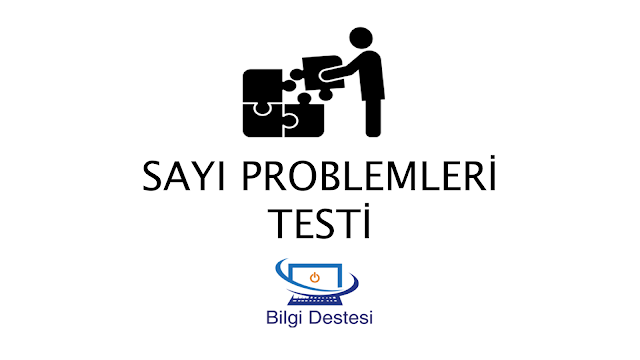 sayı problemleri testi