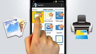 WOW!!!  Cara Nge-Print Langsung Dari Smartphone Android Tanpa komputer
