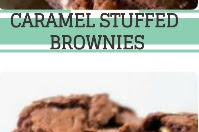 Caramel Stuffed Brownies Recipe