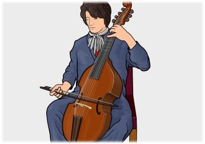 ヴィオラ・ダ・ガンバ viola da gamba