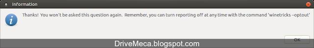 DriveMeca instalando Wine en Linux Ubuntu